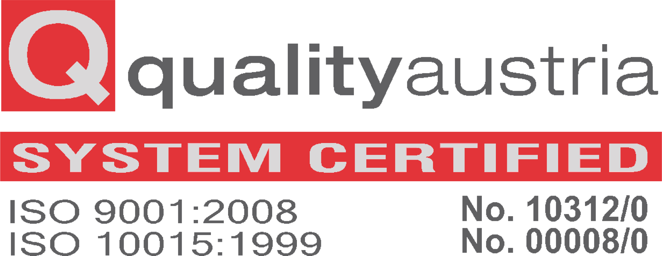 Quality Austria Gulf  Quality Certification Evaluation